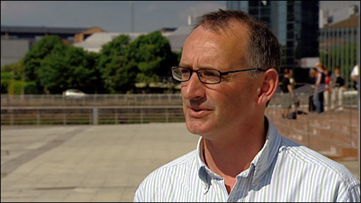 BBC Scotland football pundit Pat Nevin