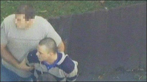 Dano Sonnex's arrest