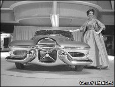 General Motors experimental sports car Le Sabre in 1952