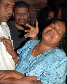 Bharati grieving