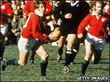 Barry John on the 1971 Lions tour