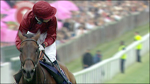 Sariska ridden by Jamie Spencer
