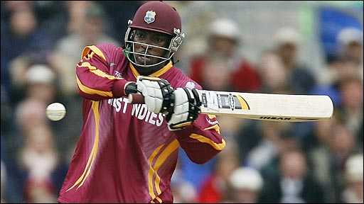 West Indies captain Chris Gayle