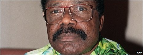 The late Gabonese President Omar Bongo