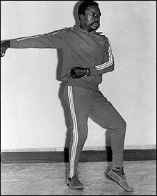 Omar Bongo doing tai chi moves