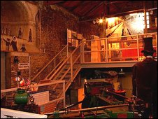 Inside the Brunel Museum