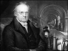 British engineer Marc Isambard Brunel