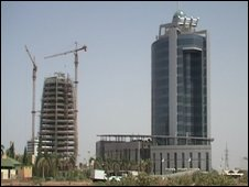 Building site in Sudan