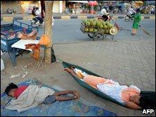 Homeless, Phnom Penh, June 09