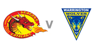 Catalans Dragons v Warrington