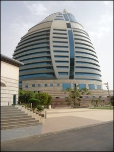 New building in Khartoum