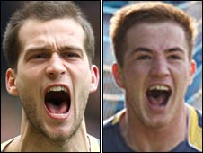 Roger Johnson and Ross McCormack