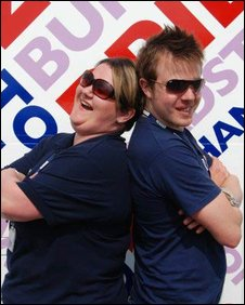 Emma Britton and Matt Botten