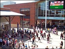 Event taking place at the Norwich Big Screen