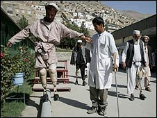 A limb-fitting centre in Afghanistan