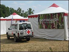 Red Cross camp at Solferino
