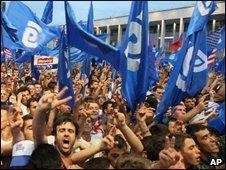 democratic party rally, 26 june