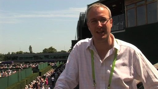 BBC Radio 5 live's Jonathan Overend