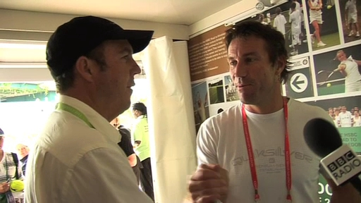 Jeff Tarango and Pat Cash