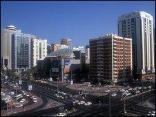 Abu Dhabi town centre