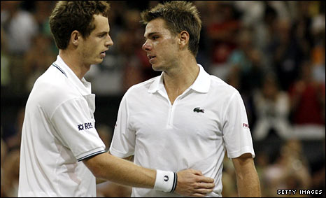 Andy Murray and Stanislas Wawrinka