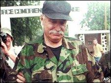 Bob Denard in 1995