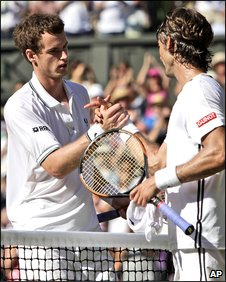 Andy Murray and Juan Carlos Ferrero