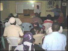 Narcotics Anonymous group meeting, Zanzibar