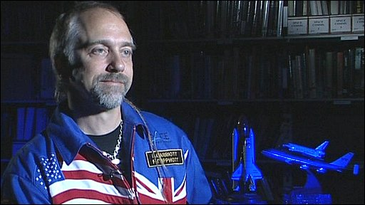 British astronaut Richard Garriott