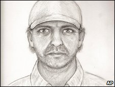 A police sketch of the suspected Cherokee County serial killer