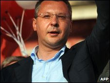 Bulgarian Socialist Party leader and PM Sergei Stanishev