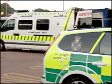 Two ambulances (generic)