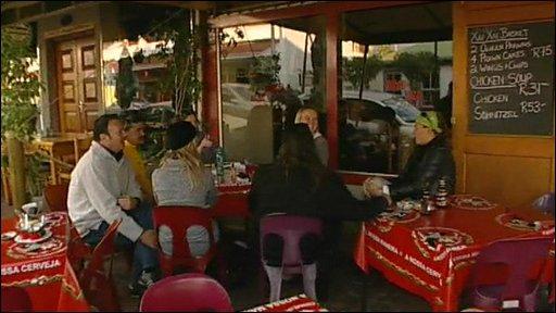 Johannesburg cafe