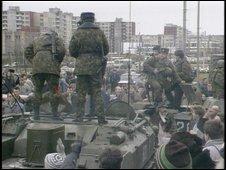 Russians in Vilinius