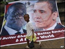 Poster of President Obama