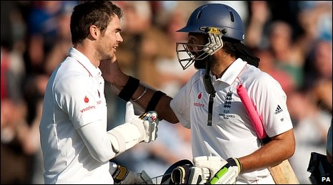 Anderson and Panesar