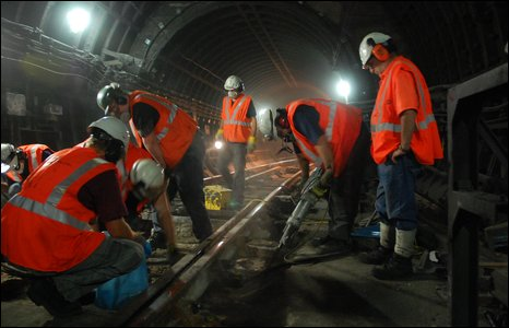 Maintenance on the Underground
