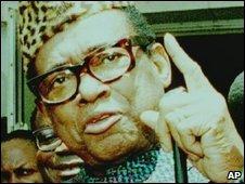 Mobutu Sese Seko, file image