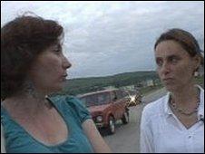 Natalia Estemirova and Lucy Ash