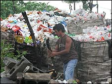 La Chureca rubbish dump, Managua