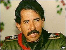 President of Nicaragua Daniel Ortega (1 November 1989)
