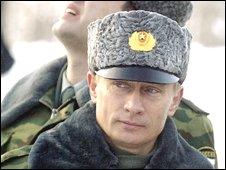Former Russian President Vladimir Putin