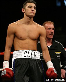 Nathan Cleverly and Enzo Calzaghe