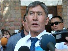 Almazbek Atambayev in Bishkek - 23 July 2009