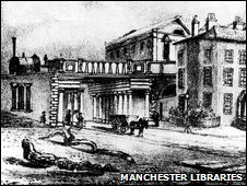 Liverpool Road Station in 1830