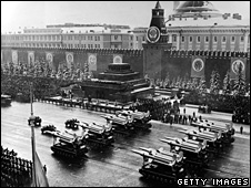 Military parade in Red Square (1969)