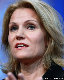Helle Thorning-Schmidt, leader of the Danish Social Democratic Party