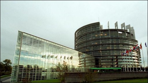 European Parliament in Strasbourg