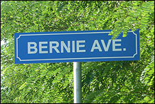 Bernie Avenue at the Hungaroring