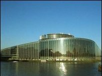 The European Parliament's Strasbourg seat is where the main sessions are held